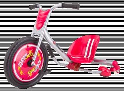 RipRider 360 Caster Trike trīsriteņu velosipēds - Red