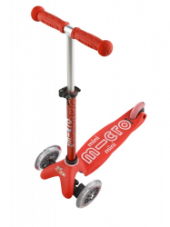 Micro Mini Deluxe skrejritenis Red