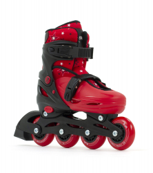 SFR Plasma Adjustable Inline Skates Red