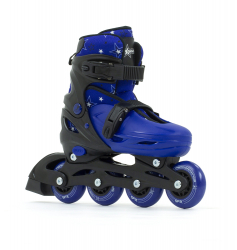 SFR Plasma Adjustable Inline Skates Blue
