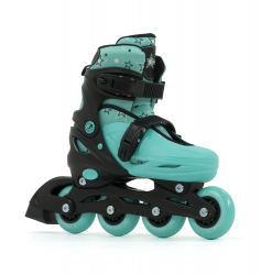 SFR Plasma Adjustable Inline Skates Green