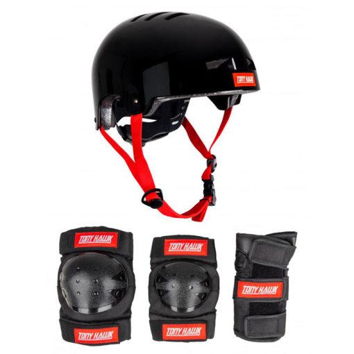 9+ Years Tony Hawk Protective Set Helmet & Padset L/XL